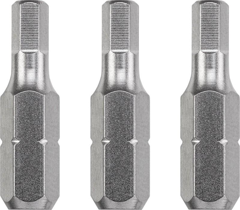 TQ 60/acier, entra/înement ISO 1173, C 6.3 KWB 3/embouts 25/mm PZ 1/Industrial Steel 121101/ 0/W 0/V